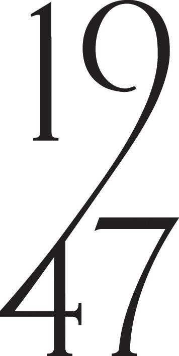 1947 bespoke london based british luxury fashion label
